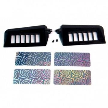 Cutter in alluminio lama N.11