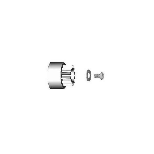 CNC Machined Alloy 35mm Servo Wheel