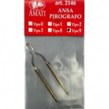 Secchio in legno con manico in corda